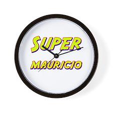 Super mauricio Wall Clock