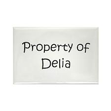 Cool Delia Rectangle Magnet