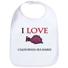 I Love California Sea Hares Bib