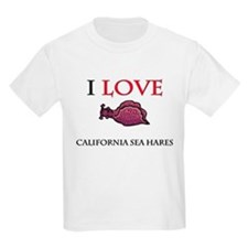 I Love California Sea Hares T-Shirt