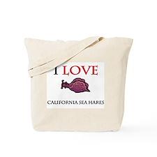 I Love California Sea Hares Tote Bag