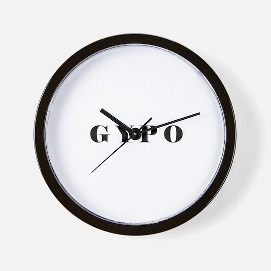 Cute Acronyms Wall Clock