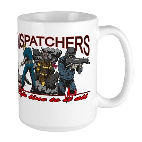 DISPATCHERS Large Mug