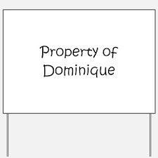 Unique Dominique Yard Sign