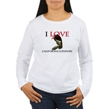 I Love California Condors T-Shirt
