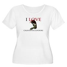 I Love California Condors T-Shirt