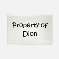 Funny Dion Rectangle Magnet