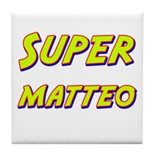 Super matteo Tile Coaster