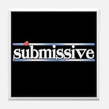 submissive Tile Coaster