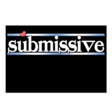 submissive Postcards (Package of 8)