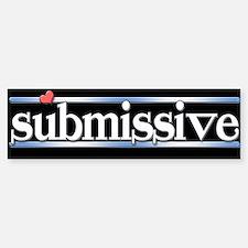 submissive Sticker (Bumper)