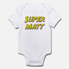 Super matt Infant Bodysuit