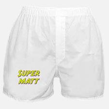 Super matt Boxer Shorts