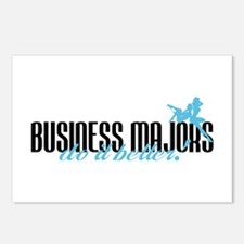 Business Majors Do It Better! Postcards (Package o
