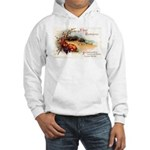 Ripe Fruits & Flowers Hooded Sweatshirt