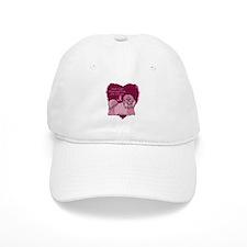 Pink Ribbon Shih Tzu Baseball Cap