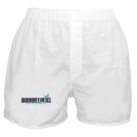 Bookkeepers Do It Better! Boxer Shorts