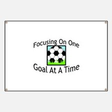 One Goal At A Time Banner