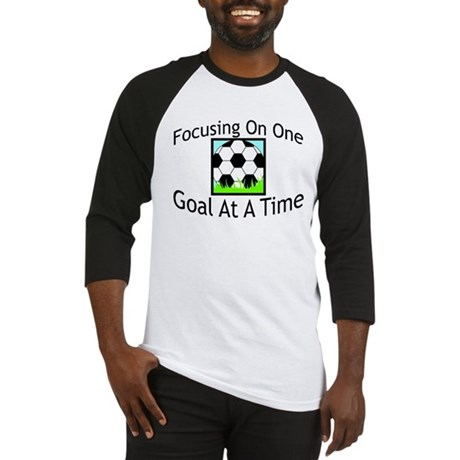 One Goal At A Time Baseball Jersey