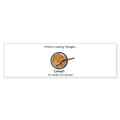 TwilightMOMS Cereal Bumper Sticker (10 pk)