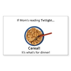 TwilightMOMS Cereal Rectangle Decal