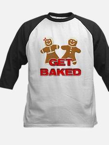 GET BAKED! Kids Baseball Jersey