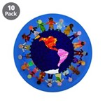 "Peaceful Children 3.5"" Button (10 pack)"