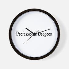 Professional Dragoon Wall Clock