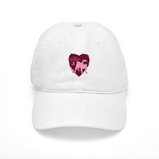Pink Ribbon Pug Baseball Cap
