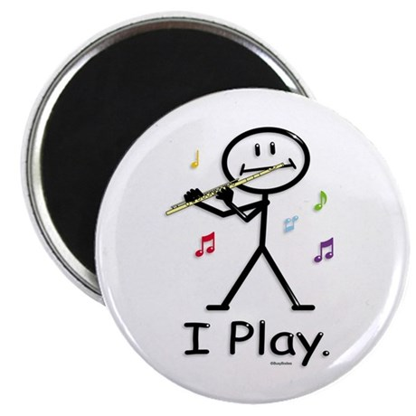 BusyBodies Flute Magnet