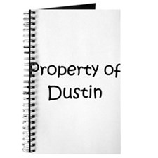 Cute Property of dustin Journal