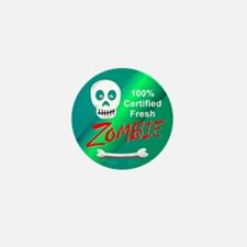 Funny Certified Fresh Zombie Mini Button (10 pack)