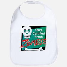Funny Certified Fresh Zombie Bib