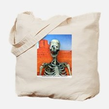Smiling Skeleton Tote Bag