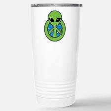 Peace Alien Travel Mug