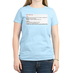 TwilightMOMS Vegetarian Women's Light T-Shirt