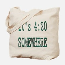 420 Somewhere Tote Bag