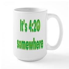 420 Somewhere Mug