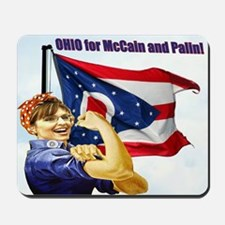OHIO for McCain and Palin! Mousepad