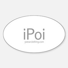 iPoi Oval Decal