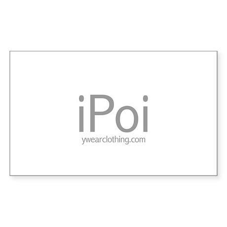 iPoi Rectangle Sticker