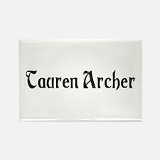 Tauren Archer Rectangle Magnet
