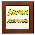 Super martina Framed Tile