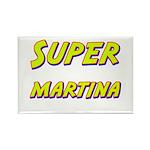 Super martina Rectangle Magnet