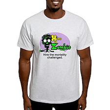 Funny Zombie Job Hire T-Shirt
