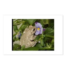 Unique Frogs tote Postcards (Package of 8)