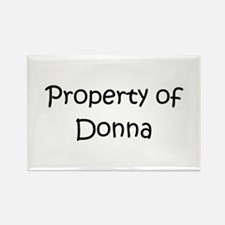Cute Donna Rectangle Magnet