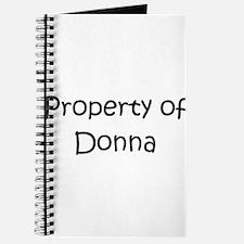 Cute Donna Journal