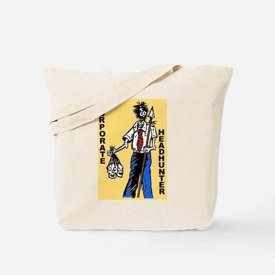 Zombie Corporate Headhunter Tote Bag