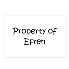 Unique Efren Postcards (Package of 8)